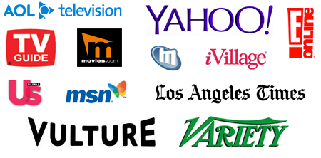 Yahoo, AOL Television, TV Guide, Variety and more
