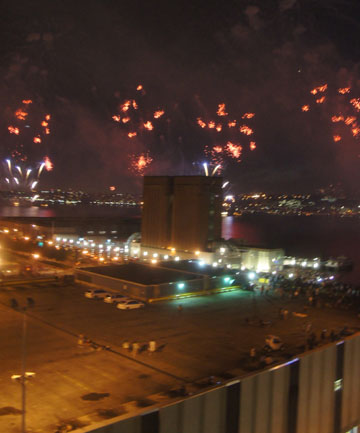 July 4th Macy's Fireworks: Best Seat in the House