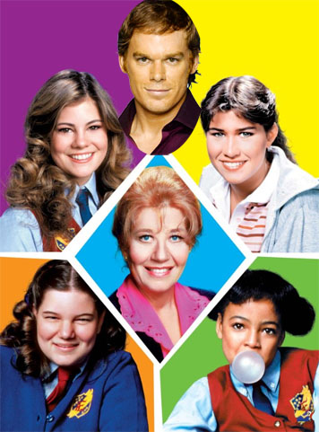 How is 'Dexter' Like 'The Facts of Life'?