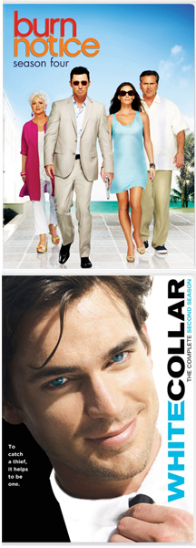 WIN THIS! 'Burn Notice' and 'White Collar' DVDs!