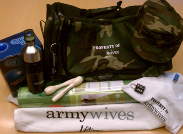 WIN THIS! 'Army Wives' Boot Camp Prize Pack