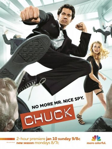 Chuck Out the New 'Chuck' Poster and Chuck Me Out Game