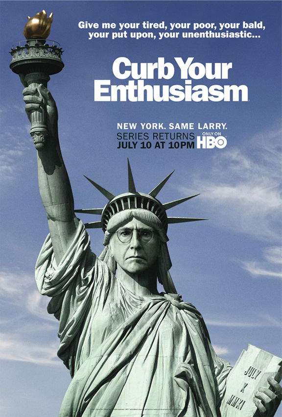 'Curb Your Enthusiasm' Season 8 Poster