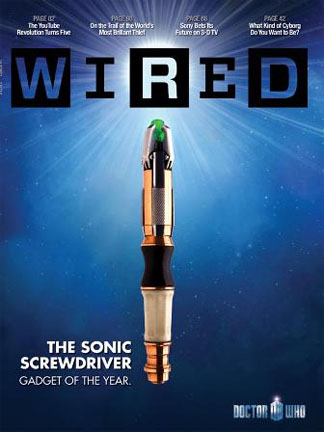 WIN THIS! Special Edition 'Doctor Who' Wired Magazine