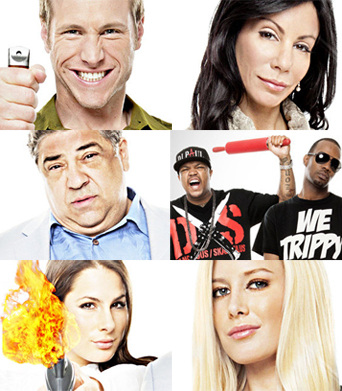 VH1's 'Famous Food': Just Dine and Dash
