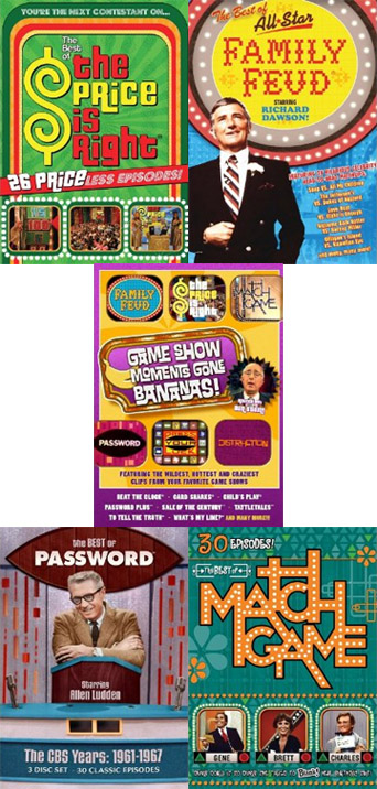 WIN THIS! Game Show DVDs – 'The Price Is Right,' 'Family Feud,' 'Match Game' & More!