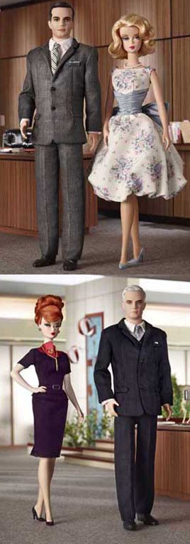 Hey, What's That Don Draper Doll Doing With Barbie?!?!