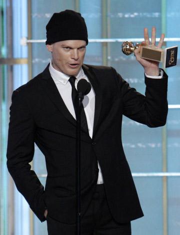 'Glee,' 'Mad Men' and 'Dexter' Big Golden Globes TV Winners