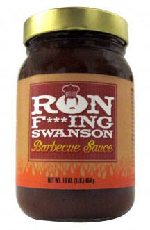 High on the Ron Swanson Pyramid of Greatness: Ron F***ing Swanson BBQ Sauce