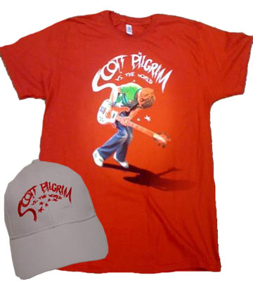 WIN THIS! Official 'Scott Pilgrim vs. the World' T-Shirt and Hat