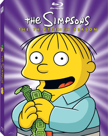 WIN THIS! 'The Simpsons' Season 13 DVDs