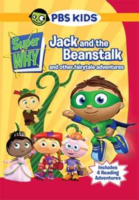 WIN THIS! 'Super Why! Jack and the Beanstalk & Other Fairytale Adventures' DVDs