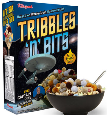 Tribbles 'n' Bits Cereal: Not Part of a Complete Breakfast
